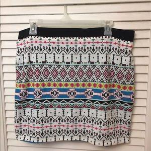 NWOT Reversible Betsey Johnson Skirt Size: XL
